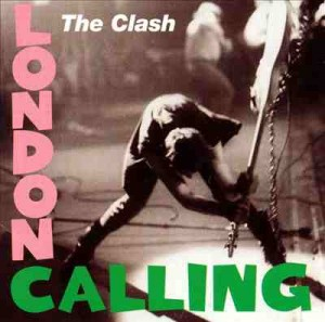 The Clash's London Calling album